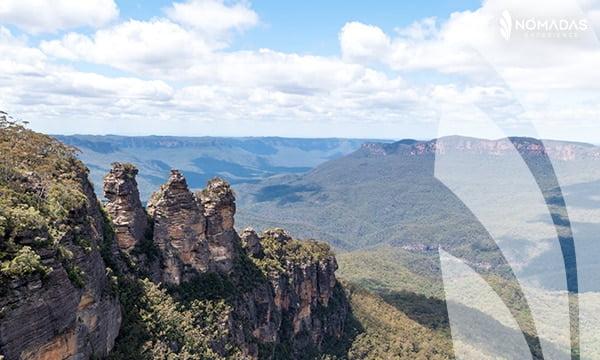 visitar el parque nacional de las blue mountains