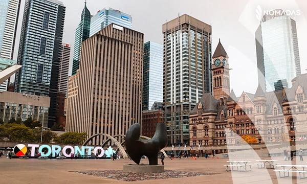 Vivir en el downtown en Toronto