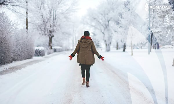 Invierno en Canadá
