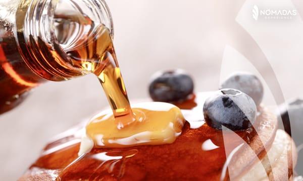 Comida típica Canadá - Maple Syrup