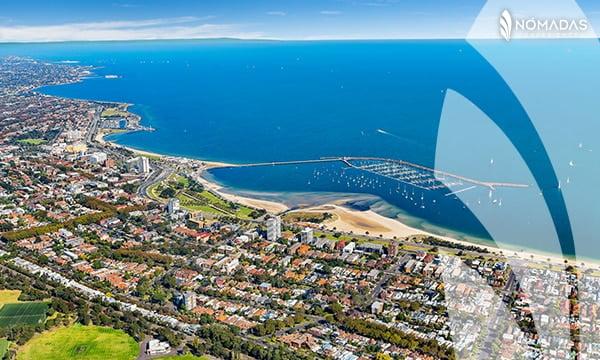 Playas de Melbourne . St Kilda Beach