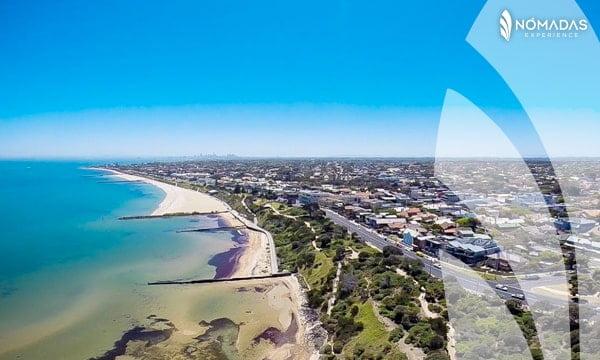 Hampton Beach, Melbourne, Australia