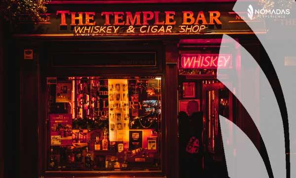 Bares para visitar en Dublín. The Temple Bar