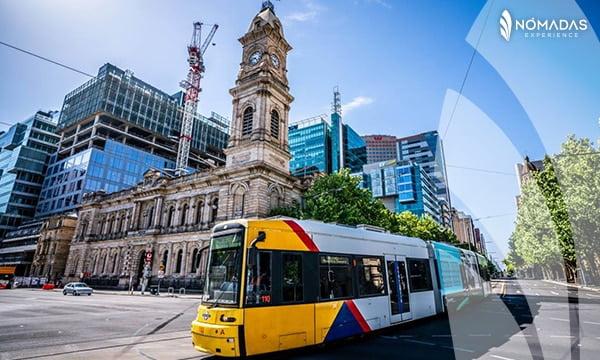 Transporte en Adelaide
