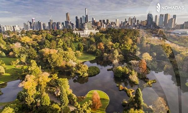 Jardín Botánico, Melbourne.