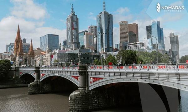 vivir en Melbourne, La City