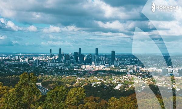 Mount Coot-tha, Brisbane, Australia.