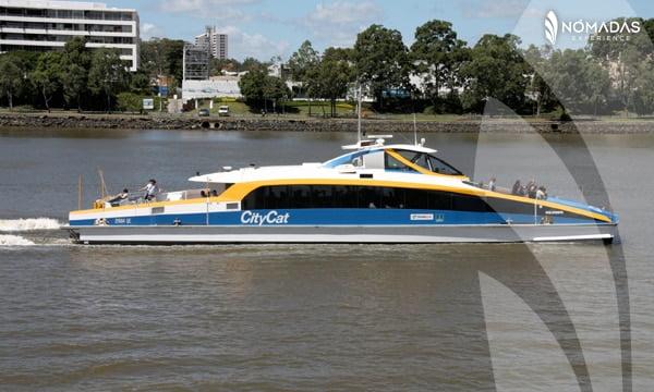 Como puedes movilizarte por Brisbane