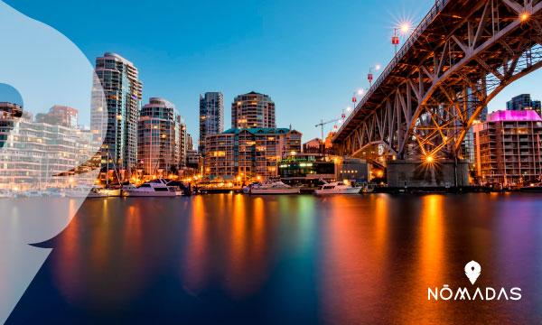 Mejores ciudades para vivir en Canadá: Vancouver