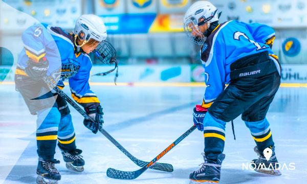 Ver, jugar, sentir y vivir el Hockey en Canadá
