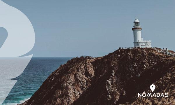 El faro de Byron Bay , Australia