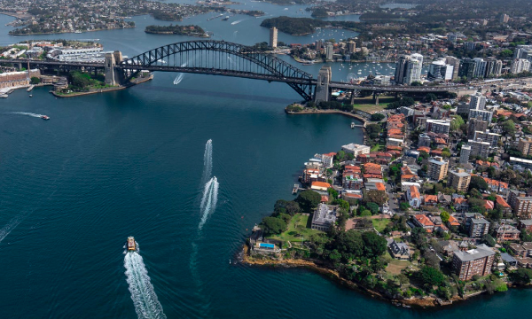 El puerto de Sydney