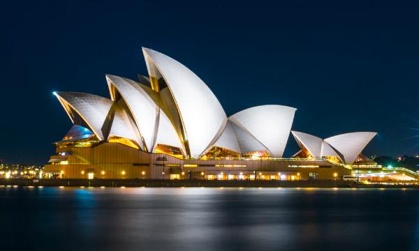 La Casa de la Opera en Sydney Australia